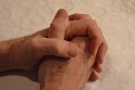 Foldede hender