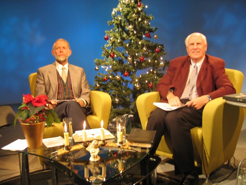 Rolf og Bjøre Olsen.TV 1