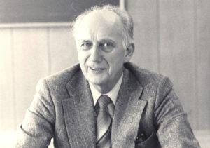 Erling Utnem (1920-2006), biskop i Agder 1973-1983. (Uvisst når bildet er tatt.)