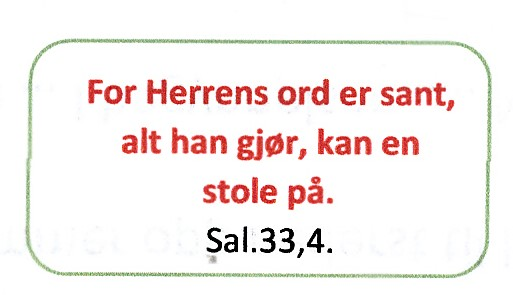 522 For Herrens ord er